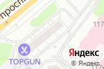 Схема проезда до компании Ля ногти в Москве