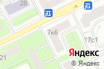 Схема проезда до компании Держава в Москве