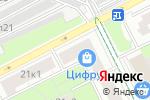 Схема проезда до компании Твой имидж в Москве