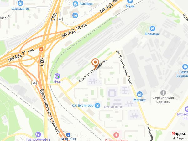 Остановка Краснополянская ул. в Москве