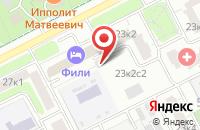 Схема проезда до компании Гефест-Строй в Москве