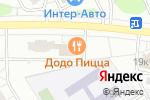 Схема проезда до компании Дэнио в Москве