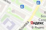 Схема проезда до компании Магазин автозапчастей на ул. Маршала Рыбалко в Москве