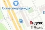 Схема проезда до компании Атлас-Люкс в Москве