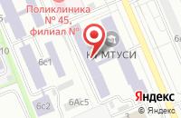 Схема проезда до компании Ресурс Электро в Москве