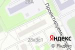 Схема проезда до компании Жилищник района Ховрино в Москве