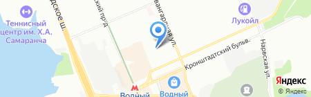 Spim.ru на карте Москвы