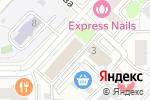 Схема проезда до компании Юрдис в Москве