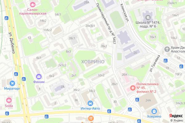 Ремонт телевизоров Район Ховрино на яндекс карте