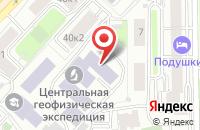 Схема проезда до компании Слант в Москве