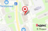 Схема проезда до компании Творческое Объединение Мосарт в Москве