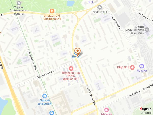 Остановка Пулковская ул. в Москве