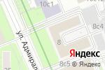 Схема проезда до компании Temapol в Москве