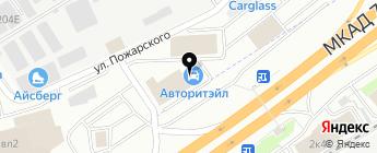 Луидор на карте Москвы