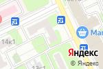 Схема проезда до компании Современная лабораторная практика в Москве