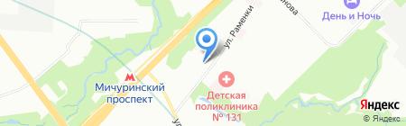 Дикси на карте Москвы
