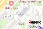 Схема проезда до компании 7 цветов в Москве