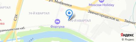 РМ Техника на карте Москвы