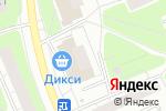 Схема проезда до компании Модный базар в Москве