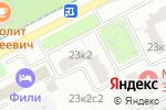 Схема проезда до компании Жилищник района Филёвский парк в Москве