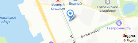 ФЕРУЗА ЛАЙН на карте Москвы