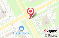 Схема проезда до компании M2-parts в Подольске