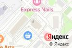 Схема проезда до компании Анкор Банк в Москве