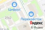 Схема проезда до компании АК Барс в Москве