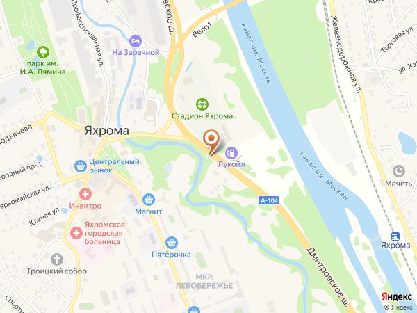 Остановка Яхрома (Стадион) (Московская область)