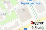 Схема проезда до компании Диип 2000 в Москве