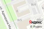 Схема проезда до компании Алексеевский учебно-спортивный центр в Москве