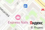 Схема проезда до компании ВОЛКОНСКИЙ у дома в Москве