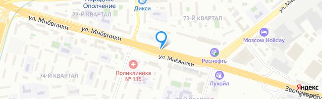 улица Мнёвники