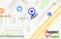 Схема проезда до компании ТФ DMK в Москве