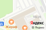 Схема проезда до компании Диапазон в Москве