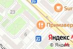 Схема проезда до компании АтласДент в Москве