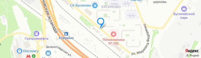 улица Маршала Федоренко