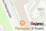 Схема проезда до компании К-регион в Москве