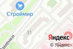 Схема проезда до компании Магазин хозяйственных товаров на ул. Раменки в Москве
