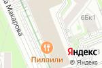 Схема проезда до компании Крост в Москве