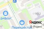 Схема проезда до компании Lemming в Москве