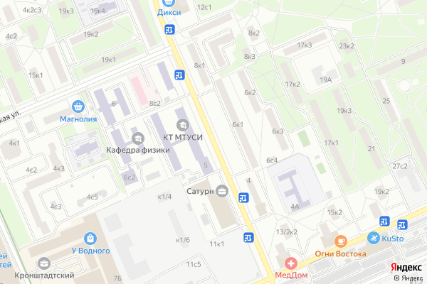 Ремонт телевизоров Улица Авангардная на яндекс карте