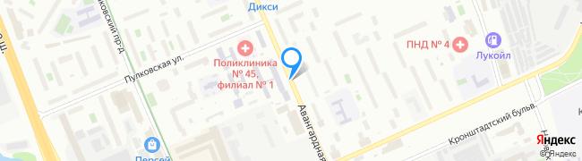 Авангардная улица