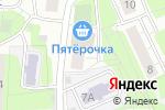 Схема проезда до компании Скандинавский Дом в Москве