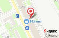 Схема проезда до компании Изумрудная Долина в Москве