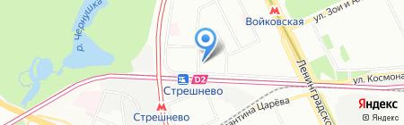 Факел Сервис на карте Москвы