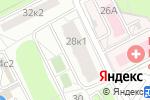 Схема проезда до компании УзорМед в Москве