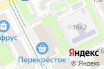 Схема проезда до компании Виктория 2000+ в Москве