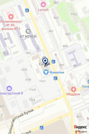 Le Journal на карте Москвы