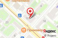 Схема проезда до компании Оптмаркет в Москве